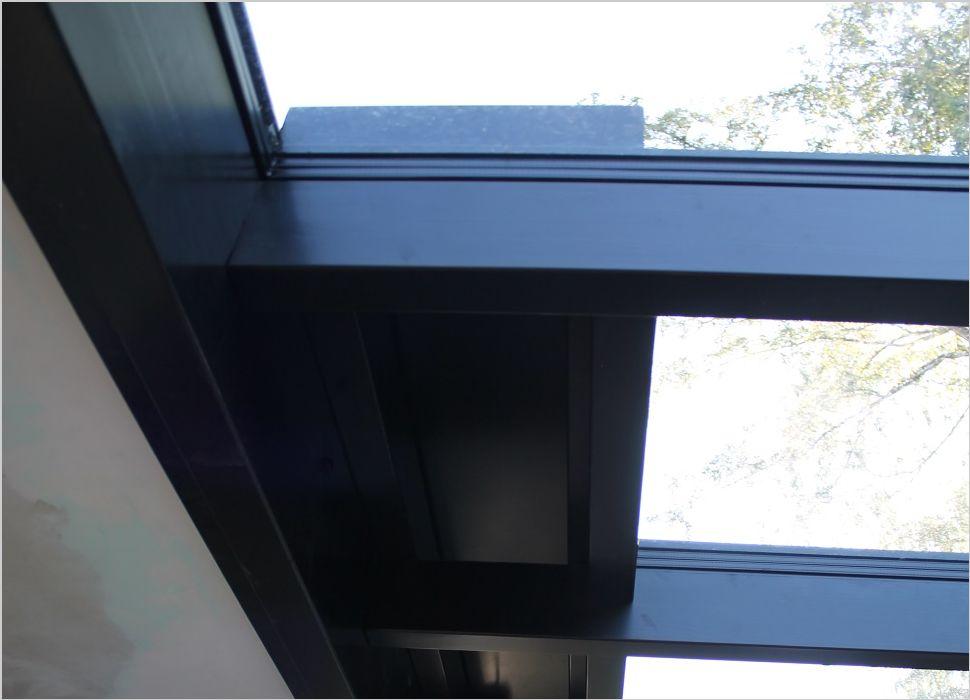 Holz-Aluminium mit Lüftungsklappe