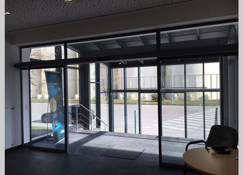 Automatik-Türe Glas von Maier