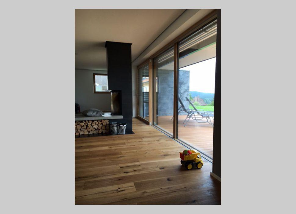 Fenster bodentief Neubau