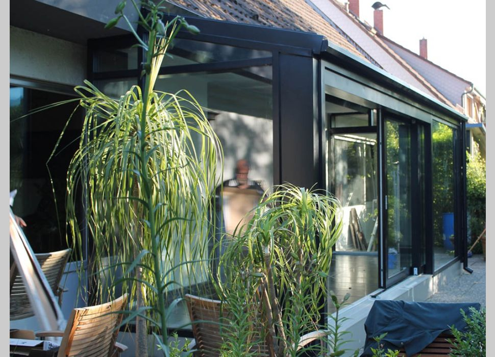Holz-Aluminium Wintergarten von Maier