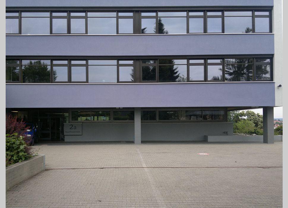 Fensterfassade von Maier